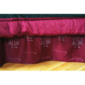 College Covers Texas A&M University Bed Skirt