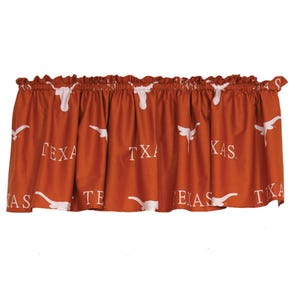 College Covers University of Texas Printed Curtain Panels 84 Inches