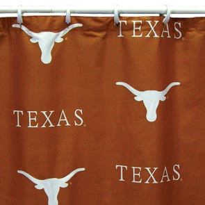 Texas A&M Printed Shower Curtain by College Covers