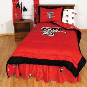 College Covers Texas Tech University Bed in a Bag