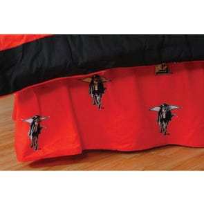 College Covers Texas Tech University Bed Skirt