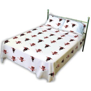 College Covers Texas Tech University Sheet Set