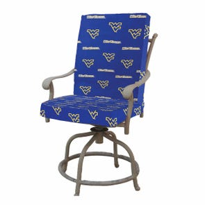 College Covers University of West Virginia 2 Piece Chair Cushion