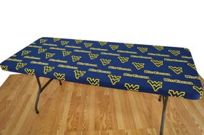 College Covers University of West Virginia 6 Foot Table Cover