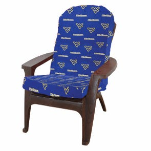 College Covers University of West Virginia Adirondack Cushion