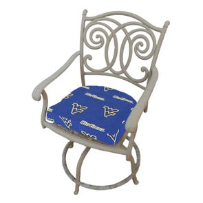 College Covers University of West Virginia D Chair Cushion