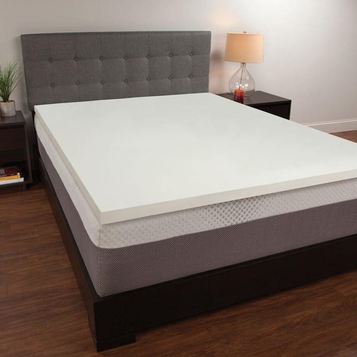 online store 98b73 4b643 1.5 Inch Memory Foam Mattress Topper by Comfort Revolution