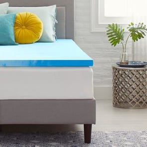 2 Inch Memory Foam Mattress Topper by Comfort Revolution