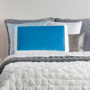 Sealy Memory Foam and Hydraluxe Gel Bed Pillow by Comfort Revolution