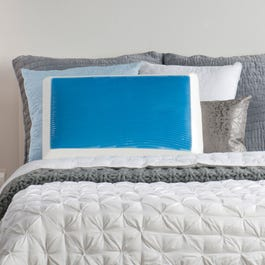Sealy Memory Foam And Hydraluxe Gel Bed Pillow By Comfort