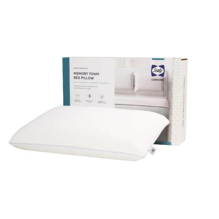 Sealy Conform Performance Memory Foam Standard Bed Pillow
