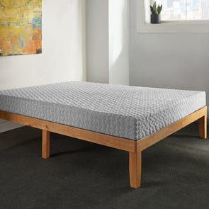 King Corsicana Early Bird 8 Inch Memory Foam Bed in a Box Plush Mattress