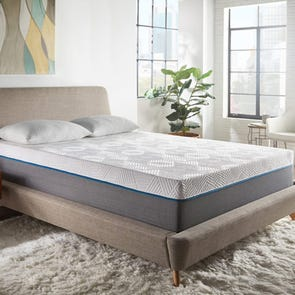 Queen Corsicana Renue Copper 12 Inch Medium Firm Mattress