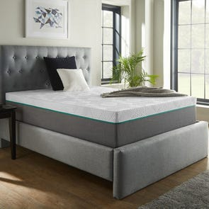 Queen Corsicana Renue Copper 14 Inch Hybrid Medium Mattress