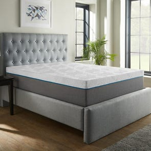 Corsicana Renue Copper 14 Inch Medium Firm Queen Mattress Only OVML052052