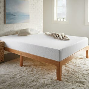 Full Corsicana Sleep Inc 8 Inch Memory Foam Bed in a Box Medium Firm Mattress