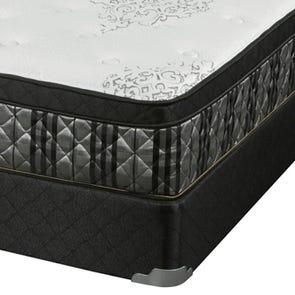 Queen Corsicana Sleep Inc 8535 Fitzgerald Euro Top Mattress