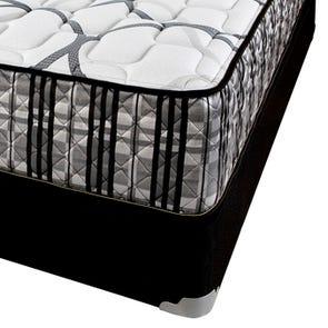 Queen Corsicana Sleep Inc 8540 Fitzgerald Silver Firm 14 Inch Mattress