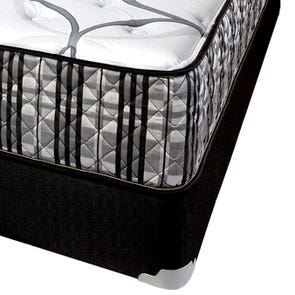 Queen Corsicana Sleep Inc 8541 Fitzgerald Silver Plush 14 Inch Mattress