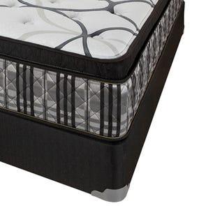 King Corsicana Sleep Inc 8545 Fitzgerald Silver Euro Top 14 Inch Mattress