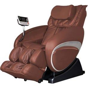 Cozzia Shiatsu Massage Chair 16027 in Brown