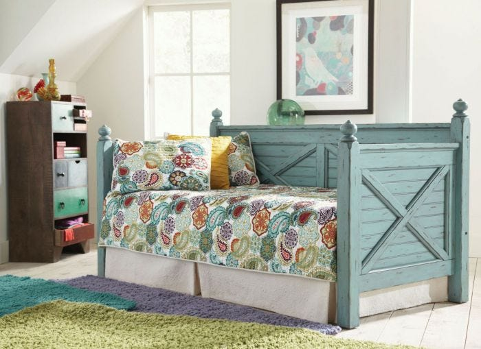 Twin Daybed With Storage White Drawers In Daybeds Underneath The ...