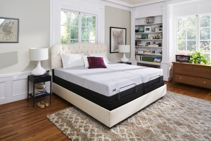 Queen Sealy Posturepedic Conform Performance High Spirits Firm Mattress +  FREE $200 Gift Card
