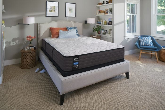 mattress firm beds. Modren Beds Queen Sealy Posturepedic Response Performance Cooper Mountain IV Cushion  Firm Mattress  Mattresses Throughout Beds