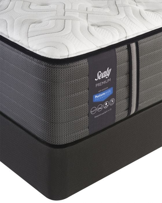 King Sealy Posturepedic Response Premium Barrett Court Iv Cushion Firm Mattress
