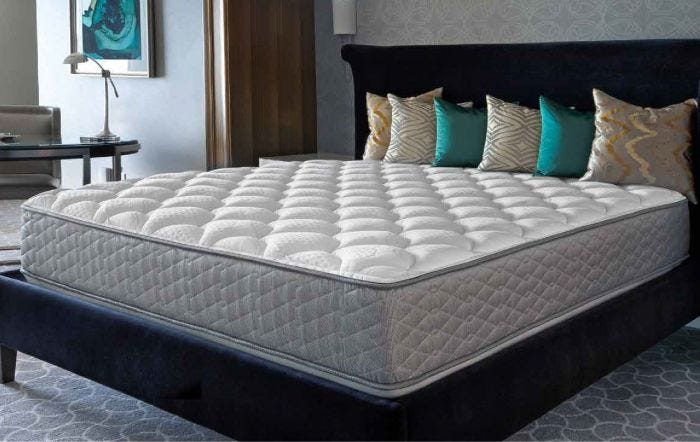 Queen Serta Perfect Sleeper Hotel Concierge Suite Ii Plush Double Sided Mattress