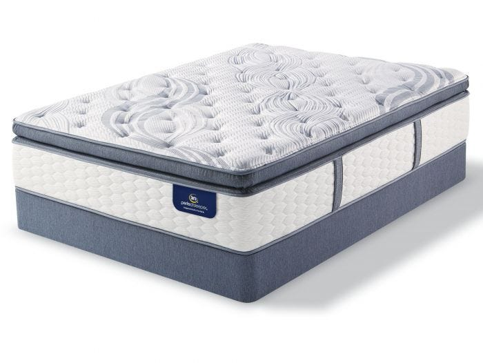 Serta Perfect Sleeper Elite Mendelson II Super Pillow Top Plush Queen Mattress Only OVML011855