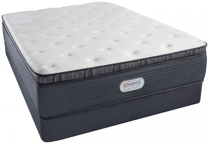 Queen Simmons Beautyrest Platinum Phillipsburg Iii Plush Pillow Top Mattress Mattresses