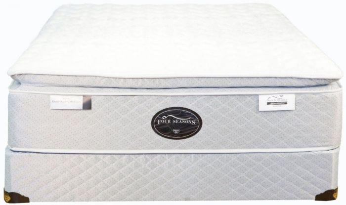 King Spring Air Back Supporter Four Seasons Athena Plush Pillowtop Mattress Mattresses
