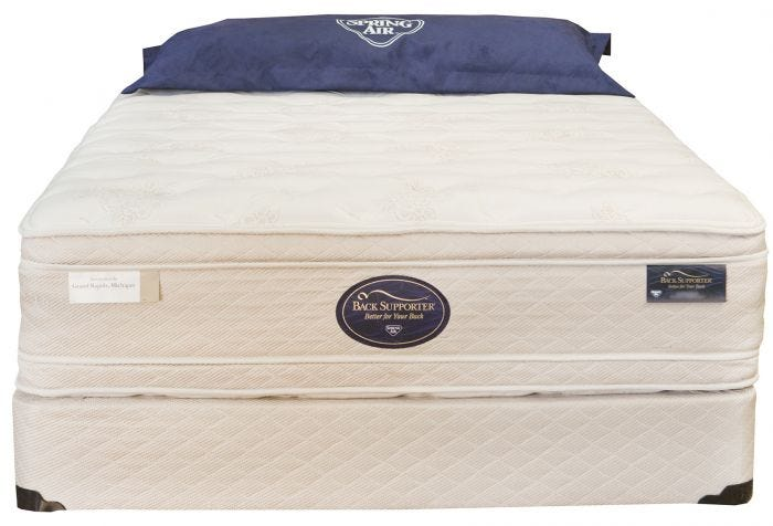 King Spring Air Hotel Suites Collection Vip Grand Estate Double Sided Euro Top Mattress Size Mattresses