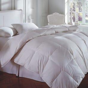 Downright Cascada Peak 600 Fill Goose Down Summer Twin Comforter
