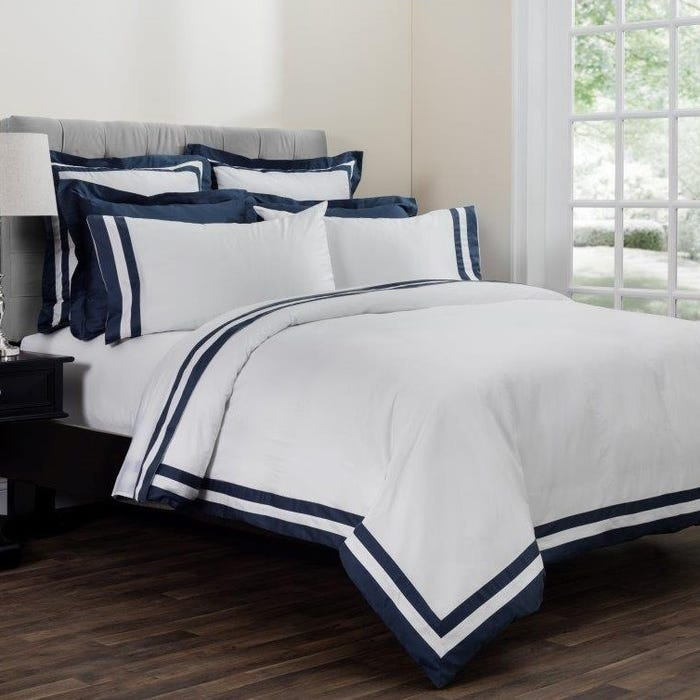 Downright Vilanova Oversized King Duvet In Hale Navy