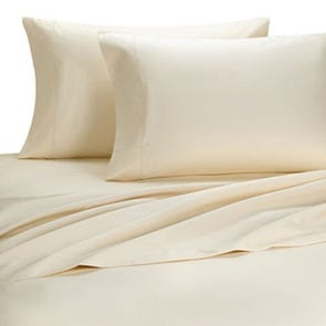 Dreamtex Organics 4 Piece Extra Large Twin Sheet Set in Natural