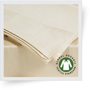 Dreamtex Organics 6 Piece King Sheet Set in Natural
