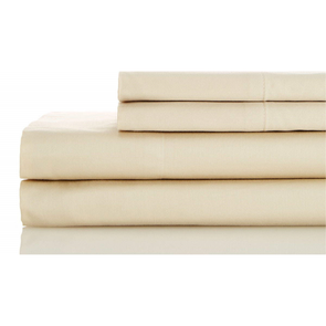 Dreamtex Organics 6 Piece Queen Sheet Set in Natural