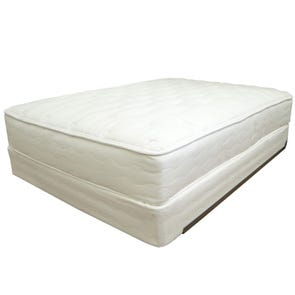 US Mattress Naturals Level 5 Luxury Plush Queen Mattress Only - All Natural, No Foam SDMB041915- Scratch and Dent Model ''As-Is''