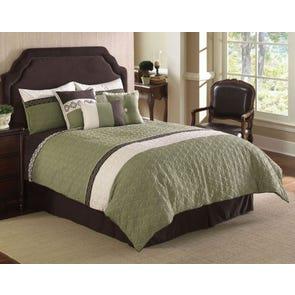Hallmart Frontera Quilted Comforter Set