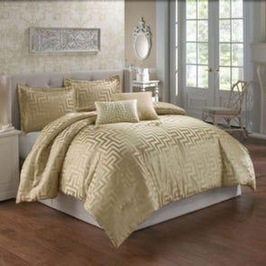 Hallmart Waverly 5 Piece Queen Comforter Set