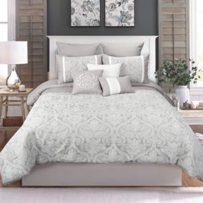 Hallmart Worthington 9 Piece Queen Comforter Set