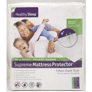 Healthy Sleep Supreme Twin Size Mattress Protector by GBS