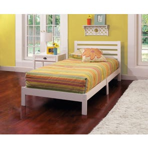 Hillsdale Furniture Aiden Twin Bed in White
