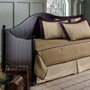 Hillsdale Furniture Augusta Daybed in Black