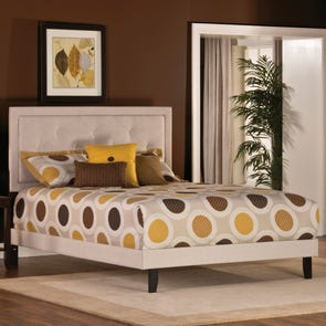 Hillsdale Furniture Becker Bed in Cream King Size