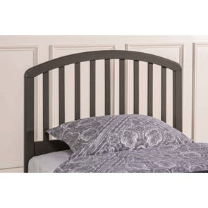 Hillsdale Furniture Carolina Headboard with Bed Frame in Stone Full/Queen Size