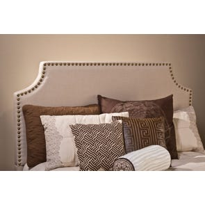 Hillsdale Furniture Dekland Headboard with Bed Frame Queen Size