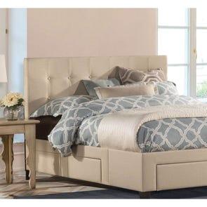 Hillsdale Furniture Duggan Fabric Upholstered Headboard Queen Size